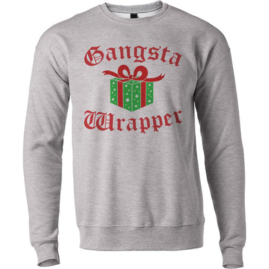 Funny Holidays Gangster Gift Gangsta Wrapper Unisex Sweatshirt - Wake Slay Repeat