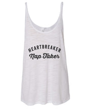 Load image into Gallery viewer, Heartbreaker Nap Taker Slouchy Tank - Wake Slay Repeat