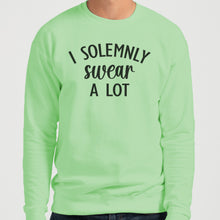 Load image into Gallery viewer, I Solemnly Swear A Lot Unisex Sweatshirt - Wake Slay Repeat