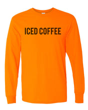 Load image into Gallery viewer, Iced Coffee Unisex Long Sleeve T Shirt