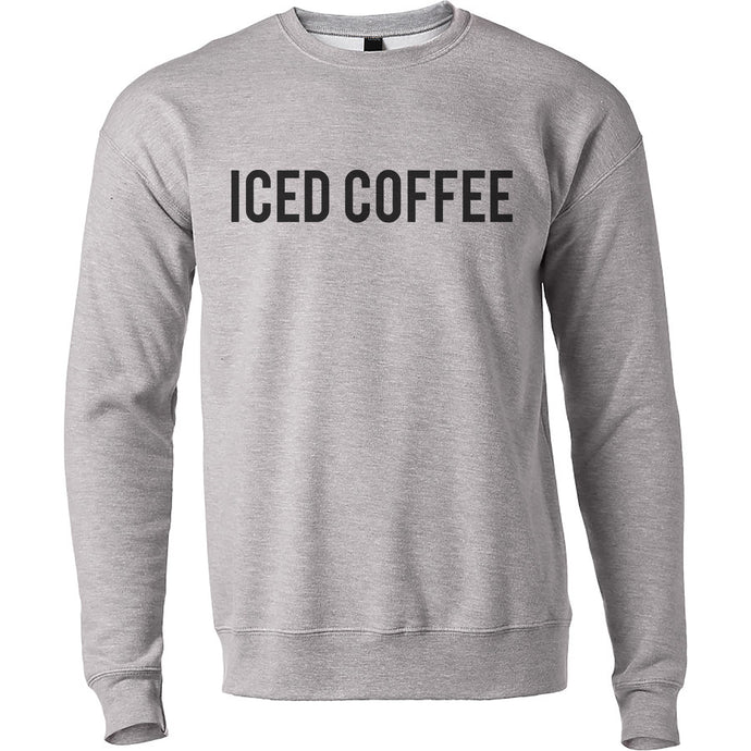 Iced Coffee Unisex Sweatshirt - Wake Slay Repeat