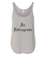 Load image into Gallery viewer, In Retrograde Flowy Side Slit Tank Top - Wake Slay Repeat