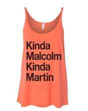 Load image into Gallery viewer, Kinda Malcolm Kinda Martin Slouchy Tank - Wake Slay Repeat