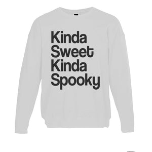 Kinda Sweet Kinda Spooky Unisex Sweatshirt - Wake Slay Repeat