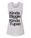 Kinda Biggie Kinda Tupac Workout Flowy Scoop Muscle Tank