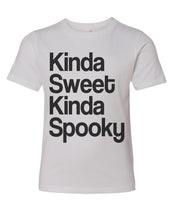 Load image into Gallery viewer, Kinda Sweet Kinda Spooky Youth Short Sleeve T Shirt - Wake Slay Repeat