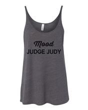 Load image into Gallery viewer, Mood Judge Judy Slouchy Tank - Wake Slay Repeat