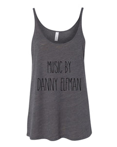 Music By Danny Elfman Slouchy Tank - Wake Slay Repeat