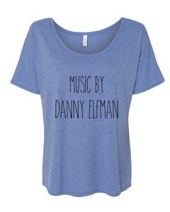 Music By Danny Elfman Slouchy Tee - Wake Slay Repeat