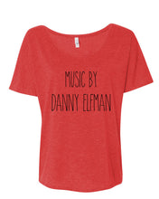 Load image into Gallery viewer, Music By Danny Elfman Slouchy Tee - Wake Slay Repeat