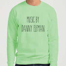 Load image into Gallery viewer, Music By Danny Elfman Unisex Sweatshirt - Wake Slay Repeat