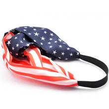 Load image into Gallery viewer, 4th Of July American Flag Headband - Wake Slay Repeat