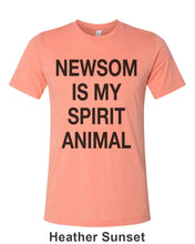 Load image into Gallery viewer, Newsom Is My Spirit Animal Unisex Short Sleeve T Shirt - Wake Slay Repeat