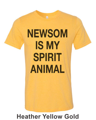 Newsom Is My Spirit Animal Unisex Short Sleeve T Shirt