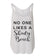 No One Likes A Shady Beach Flowy Side Slit Tank Top
