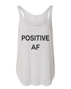 Positive AF Flowy Side Slit Tank Top