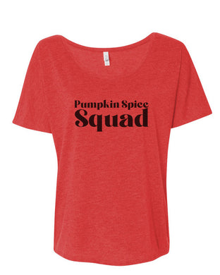 Pumpkin Spice Squad Slouchy Tee - Wake Slay Repeat