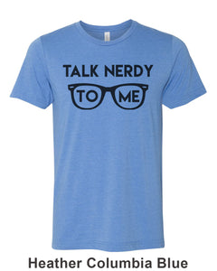 Talk Nerdy To Me Unisex Short Sleeve T Shirt - Wake Slay Repeat