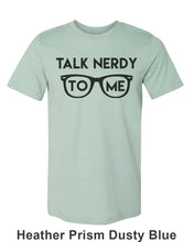 Load image into Gallery viewer, Talk Nerdy To Me Unisex Short Sleeve T Shirt - Wake Slay Repeat