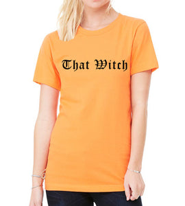 Halloween Shirt That Witch Unisex T Shirt - Wake Slay Repeat