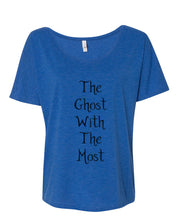 Load image into Gallery viewer, The Ghost With The Most Slouchy Tee - Wake Slay Repeat