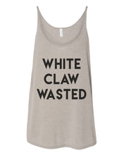 Load image into Gallery viewer, White Claw Wasted Slouchy Tank