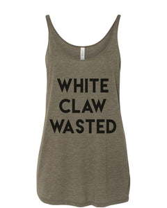 White Claw Wasted Slouchy Tank