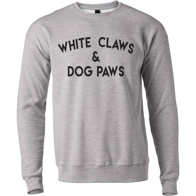 White Claws & Dog Paws Unisex Sweatshirt - Wake Slay Repeat