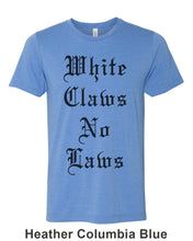Load image into Gallery viewer, White Claws No Laws Unisex Short Sleeve T Shirt