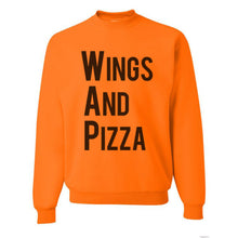Load image into Gallery viewer, Wings And Pizza WAP Unisex Sweatshirt - Wake Slay Repeat