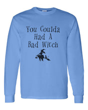 Load image into Gallery viewer, You Coulda Had A Bad Witch Unisex Long Sleeve T Shirt - Wake Slay Repeat