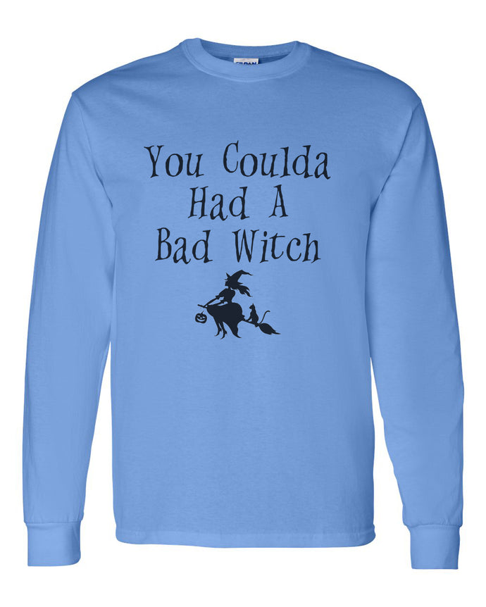 You Coulda Had A Bad Witch Unisex Long Sleeve T Shirt - Wake Slay Repeat
