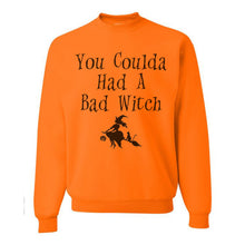 Load image into Gallery viewer, You Coulda Had A Bad Witch Unisex Sweatshirt - Wake Slay Repeat