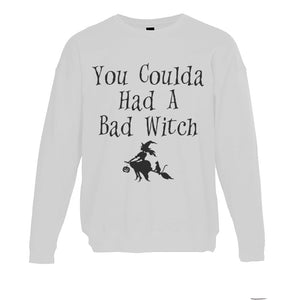 You Coulda Had A Bad Witch Unisex Sweatshirt - Wake Slay Repeat