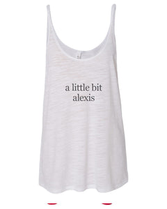 a little bit alexis Slouchy Tank - Wake Slay Repeat