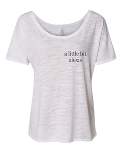 a little bit alexis Pocket Slouchy Tee - Wake Slay Repeat