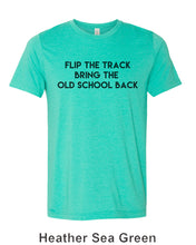 Load image into Gallery viewer, Flip The Track Bring The Old School Back Unisex Short Sleeve T Shirt - Wake Slay Repeat