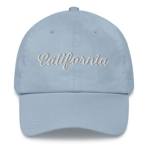 California Knows How To Party Dad Hat - Wake Slay Repeat