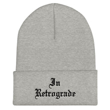 Load image into Gallery viewer, In Retrograde Cuffed Beanie - Wake Slay Repeat