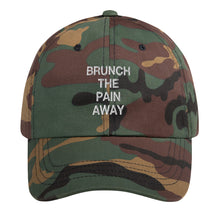 Load image into Gallery viewer, Brunch The Pain Away Dad Hat - Wake Slay Repeat