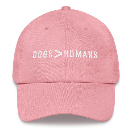 Dogs > Humans Dad Hat - Wake Slay Repeat