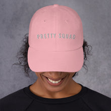 Load image into Gallery viewer, Pretty Squad Dad Hat - Wake Slay Repeat