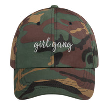 Load image into Gallery viewer, girl gang Dad Hat - Wake Slay Repeat