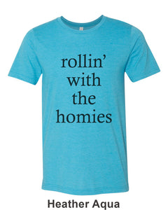 rollin' with the homies Unisex Short Sleeve T Shirt - Wake Slay Repeat