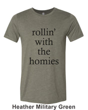 Load image into Gallery viewer, rollin' with the homies Unisex Short Sleeve T Shirt - Wake Slay Repeat