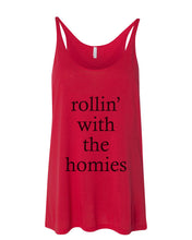 Load image into Gallery viewer, rollin' with the homies Slouchy Tank - Wake Slay Repeat