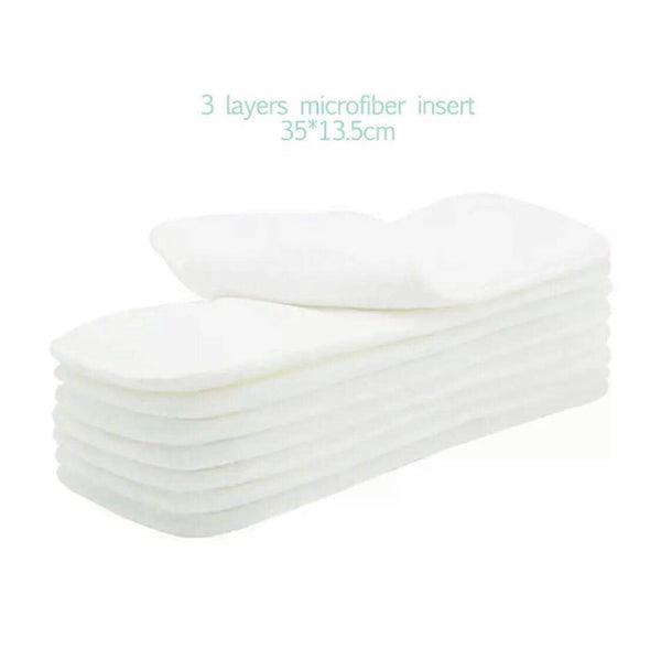 Microfiber Reusable Nappy Insert