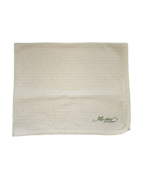 """The Natural"" 100% Organic Cotton Blanket"
