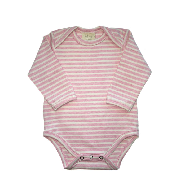 """Little Pink"" Long Sleeved Bodysuit"