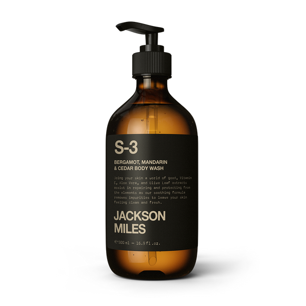 S-3 Bergamot, Mandarin & Cedarwood Body Wash